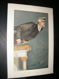 Vanity Fair Print 1904 Rev R.J Campbell, Clergy